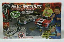 Enertec 1:43 Ford Shelby Racing Team Electric Slot Car Set 2010 1967 Gt500 Euc