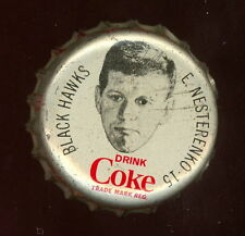 1964 65 COCA-COLA COKE BOTTLE CAP CORK ERIC NESTERENKO EX-NM CHICAGO BLACK HAWKS