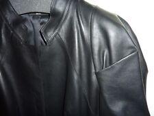 Hugo Boss Black Label fitted soft nappa leather jacket 40, M, NWOT