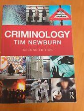 Criminology Tim Newburn Second Edition