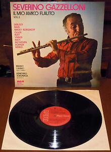 LP SEVERINO GAZZELLONI Il mio amico flauto Vol 2 (Rca Red Seal 75) classical M!