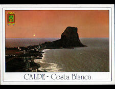 CALPE (ESPAGNE) HOTELS & RESIDENCES en vue aérienne en 1994