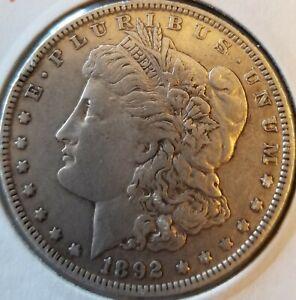 1892 O MORGAN SILVER DOLLAR HI GRADE GENUINE U.S. MINT RARE KEY DATE ~ Estate