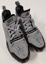 DAMIAN LILLARD Signed Adidas Size 7 Gray Basketball Shoes ~ Beckett BAS COA