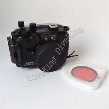 40m 130ft  Waterproof Camera Housing Case For Fuji Fujifilm X100S 16-50mm Lens