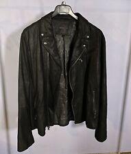 John Varvatos Goat/Leather/Suede Jacket