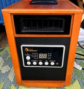Dr Infrared Heater DR998 Advanced Dual Heating System with Humidifier and Fan
