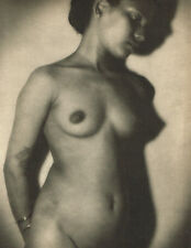 1940s Vintage Lionel Wendt Sri Lanka Asian Female Nude Photo Gravure Print