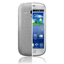 Skinomi Brushed Aluminum Skin+Screen Protector for Samsung Galaxy S 3 mini I8190