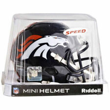 DENVER BRONCOS RIDDELL NFL MINI SPEED FOOTBALL HELMET