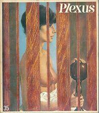 PLEXUS # 35 1970 contre culture charme brasserie Lip Geishas Lawrence d'Arabie