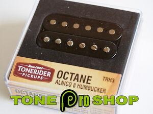 Tonerider Octane Alnico 8 F Spaced Humbucker Pickup - Black