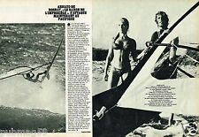 Coupure de Presse Clipping 1980 (2 pages) Arnaud De Rosnay