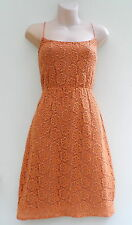 MIMOSA Lula Lace Dress Saffron Colour Evening Cocktail Formal sz 10 NWT rrp $239