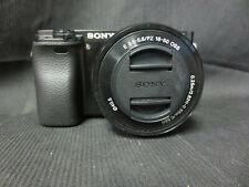 Sony Alpha α6000 24.3MP Digital SLR Camera - Black (Kit with E PZ 16-50mm...