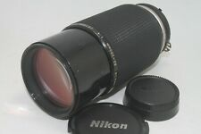 Nikon Nikkor Ai-S 80-200mm f/4 Zoom MF Lens AIS f4 [Excellent] From JAPAN F/S
