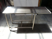 """Table , heavy duty commercial, 42x21"""""""" stainless, Kd ship, 5003991"""