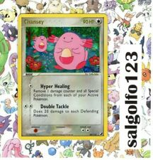 Chansey Pokemon EX Unseen Forces Holo Card Rare Decent Condition