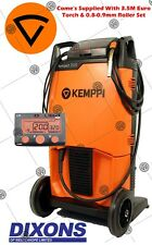 Kemppi Kempact RA251R MIG Welder Package 250amp Euro Connection Torch 240V 251R