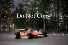 Gilles Villeneuve Ferrari 312 T4 USA East Grand Prix 1979 Photograph 3
