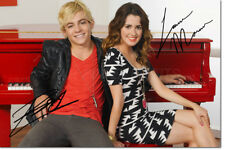 ROSS LYNCH & LAURA MARANO PHOTO PRINT PRE SIGNED - 12 X 8 INCH - AUSTIN & ALLY