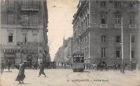 POSTCARD   EGYPT  ALEXANDRIE   Sisters  Street   (  On  Active  Service  )
