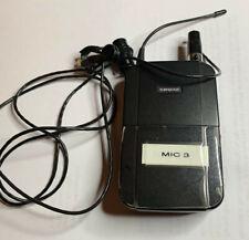 Shure Uc1-ua 782-806 Mhz Wireless Bodypack Microphone