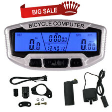 LCD Waterproof Bike Speedometer Bicycle Odometer Backlight Measurement