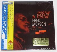 FRED JACKSON / Hootin' 'n Tootin' JAPAN CD Mini LP w/OBI  TOCJ-9034