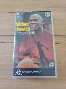 Michael Jordan's Playground VHS Tape NBA CBS FOX VIDEO SPORTS 1991
