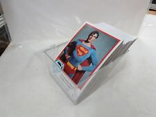 DC COMICS SUPERMAN THE MOVIE TRADING CARDS LOT OF 77 1978 VINTAGE