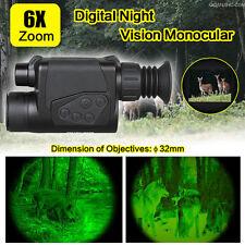 6x32 Digital Infrared IR Night Vision Camera Monocular Binoculars Scope Tactical