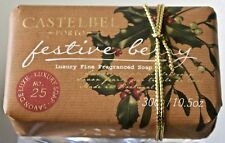 CASTELBEL PORTO FESTIVE BERRY CHRISTMAS FRAGRANCED SOAP 10.5 OZ GIFT WRAPPED NEW