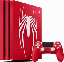 Sony - PlayStation 4 Pro 1TB Limited Edition Marvel's Spider-Man Console Bundle