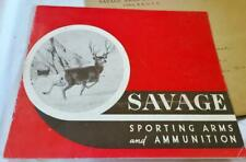 Vintage 1942 Savage Arms Gun Catalog and Original Price List w Letter Envelope