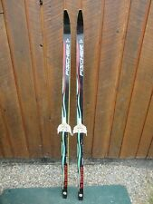 """New listing Great Ready to Use Cross Country 57"""" Fischer 150 cm Skis Waxless Base"""