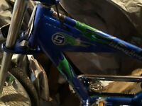 rare Schwinn stingray bicycle chopper Blue Vintage