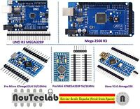 MCU Controller Kit for Arduino with MEGA 2560 UNO R3 Nano V3 Pro Mini Pro Micro