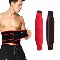 Adjustable For Men Women Lower Back Lumbar Waist Belt Support Brace Pain Relieve