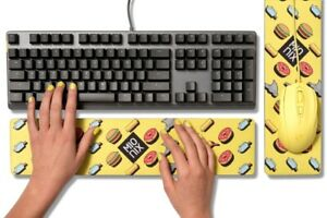 Mionix Long Pad French Fries Wrist-Rest Handballen-Auflage Tastatur Maus-Pad