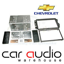Connects2 Chevrolet Kalos 2006 On Car Stereo Double Din Fascia Panel