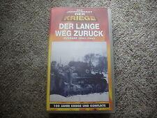 """VHS """"Der lange Weg zurück Ostfront 1943 - 1945"""" Jahrhundert der Kriege TIME LIFE"""