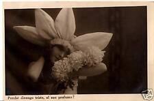 CARTOLINA FOTO DI DONNA NON VIAGGIATA C.3903