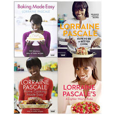 Lorraine Pascale Cookbook 4 Books Collection Set Baking Made Easy New