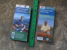 HUELL HOWSER TV SHOW LOCATIONS MAPS - CALIFORNIA - 2 AAA/ACSC MAPS - RECENT