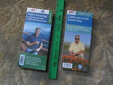 CALIFORNIA MAPS - HUELL HOWSER TV SHOWS LOCATIONS - 2 AAA/ACSC MAPS - RECENT