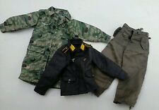 1:6 scale WWII GERMAN FALSHIRMJAGER JUMP UNIFORM SET  TUNIC, TROUSERS. DRAGON