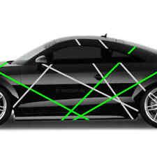 Autoaufkleber Streifen stripes Aufkleber Tuning Sticker Folierung Dekor JDM
