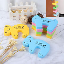 6x Baby Safety Animal Foam Door Jammer Guard Finger Protector Stoppers Home Wf