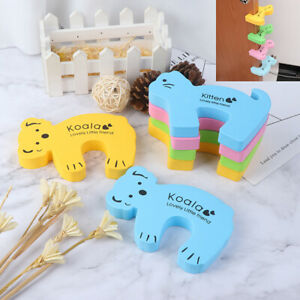 6x Baby Safety Animal Foam Door Jammer Guard Finger Protector Stoppers Home~